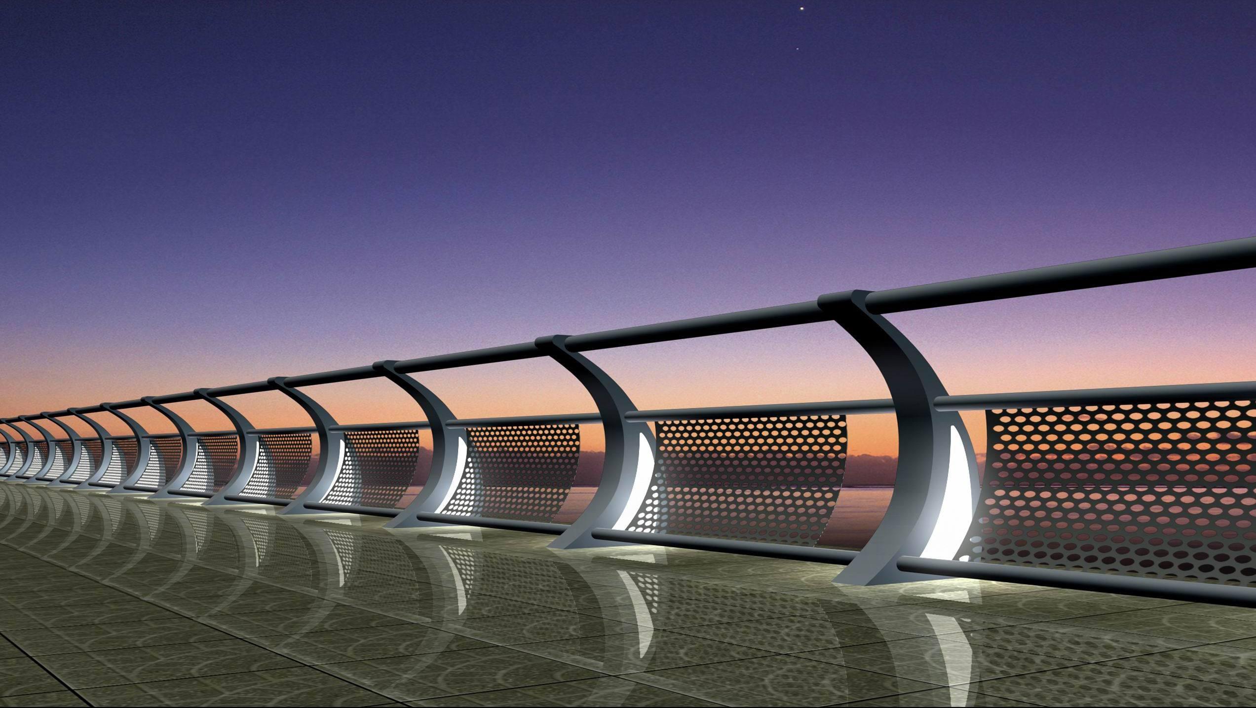 橋梁護欄距離地面多高合適?